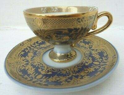 PAST TIMES - One Chintz Miniature Cup & Saucer - Porcelain - Boxed (choice Of 3) • 9.99£