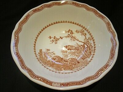 Furnivals English Potteries  Salad Bowl,  Quail Pattern 1913 /1939 • 15£
