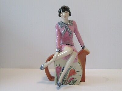 Rare Peggy Davies Hand Painted Limited Edition   'clarice Teatime' Figurine • 175£