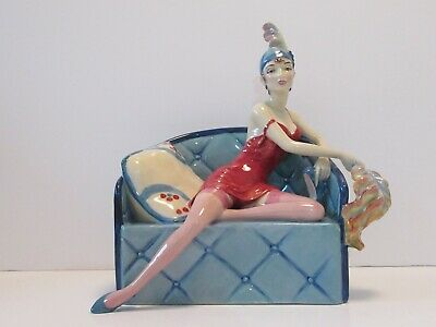 Rare Kevin Francis Hand Painted Limited Edition Figurine 'la Femme Fatel' • 195£