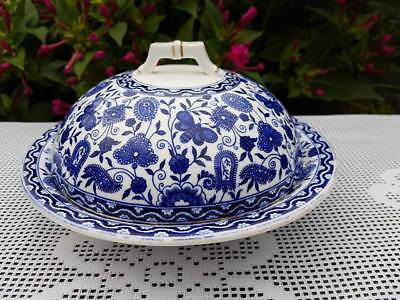 Antique Royal Crown Derby  Walmot  Muffin Dish & Covered C.1883 • 20£