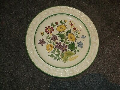 Vintage Adams Royal Ivory Titian Ware  Plate Hand Painted 9 Inches 70566 • 8.99£