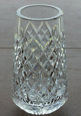 Tyrone Crystal  4 Inch CAPPAGH  Vase   - Stamped • 5.99£