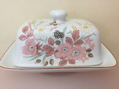 Boots Hedge Rose Lidded Butter Dish Superb Condition • 14.99£