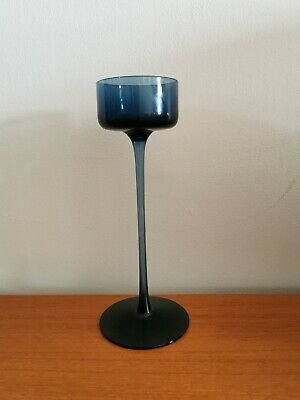 Wedgwood Art Glass BRANCASTER Candle Holder - Ronald Stennett Wilson Design • 18£