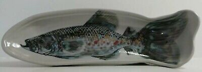 Highland Stoneware Fish With String HANDPAINTED In Fantastic Condition 43cm • 39.95£