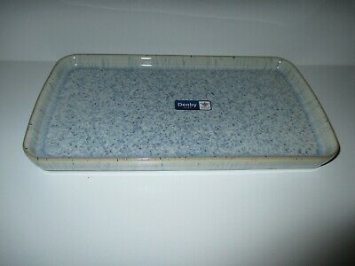 Denby Halo Small Rectangular Platter New First Quality Excellent Condition • 24.50£