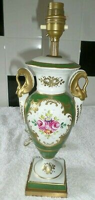 Antique Lighting 19th Century Gold Painted Table Lamp Excellent Fast Post  • 19.99£