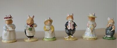 Royal Doulton Brambly Hedge Figurine Collection DBH 1, 2, 3, 6, 7, & 8  • 12£