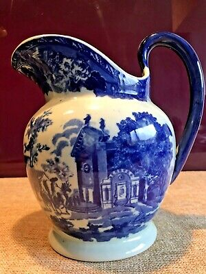 A Beautiful Vintage Large Victoria Ware Ironstone Flow Blue Style Jug • 24.99£