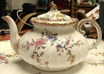 Antique Royal Crown Derby Tea Pot 1891  • 94.75£