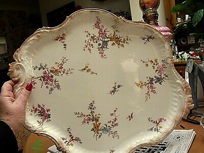 Antique Royal Crown Derby 20  Long Serving Tray For Teaset 1891  • 49.95£