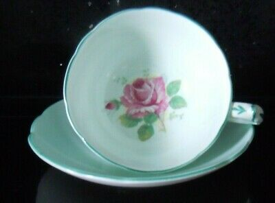 Vintage PARAGON Cabinet Cup & Saucer Fine Bone China Double Warrented 1939-49 • 12.99£
