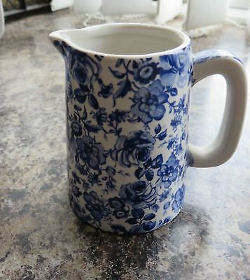 The Chintz Collection Small Blue Flower Chintz English  Milk Jug • 5.99£