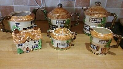 6 Pieces Of Beswick Ware Cottage Ware • 20£