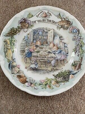Royal Doulton Brambly Hedge Dining By The Sea Tea Plate • 12.25£