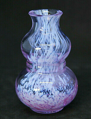 Caithness Lilac/Pink Small Vase • 3.99£