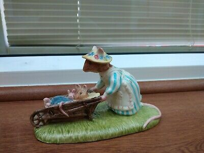 Royal Doulton Bramley Hedge DBH 48 Heading Home Excellent Condition No Box. • 16£