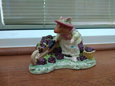 Royal Doulton ~ Brambly Hedge ~ OLD MRS EYEBRIGHT ~ DBH 62 ~ No Box • 18£