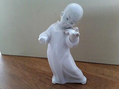 Lladro Spain Porcelain Chinese Angel With Violin  F. Garcia • 22£
