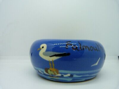 VINTAGE TORQUAY WARE SEAGULL POT For FALMOUTH • 1.99£