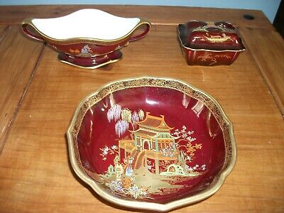 Carlton Ware Rouge Royale & Crown Devon Fieldings Items Circa 1950s • 2.50£