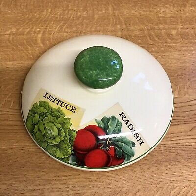 Poole Pottery Seed Packets Lid Only 20 Cm D  • 1£
