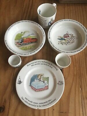 Collectable China By Wedgwood,Peter Rabbit And Thomas Tank Engine • 10£
