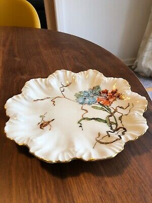 Limoges Fine Porcelaine Plate Lovely Piece • 4£