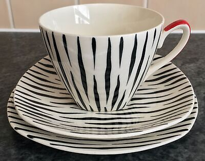 Vintage MIDWINTER ZAMBESI Jessie Tait TRIO CUP SAUCER PLATE 3 Available • 30£