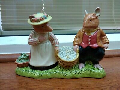 Royal Doulton Brambly Hedge, Off To Pick Mushrooms. New. DBH 66, Excellent Cond • 28£
