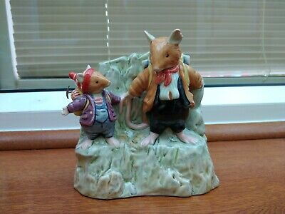 Royal Doulton Brambly Hedge Figure On The Ledge The High Hills Collection Dbh57 • 25£