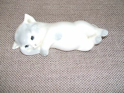 Vintage W R Midwinter Ltd  Rare  White /gray Kitten  • 20£