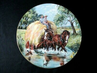 Royal Doulton 'Noble Shires' Plate - A Refreshing Change • 10.50£