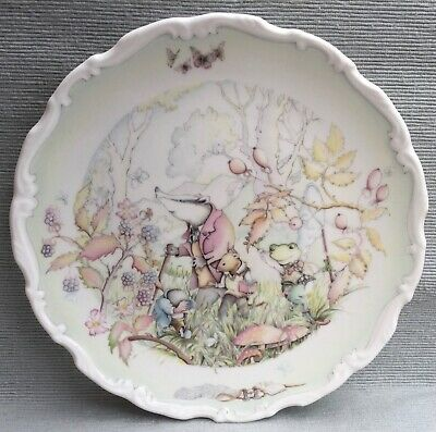 Lovely Royal Doulton Wind In Willows Plate Rambling In The Wild Wood • 6.99£