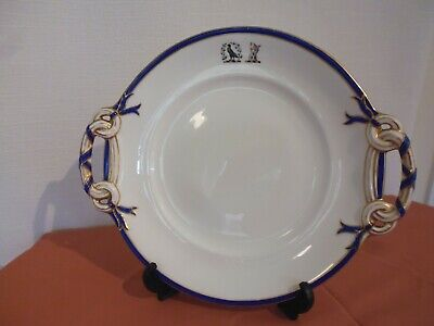 Rare Antique Minton: T.goode & Co. Twin Handled Serving Dish With Crested Detail • 59£
