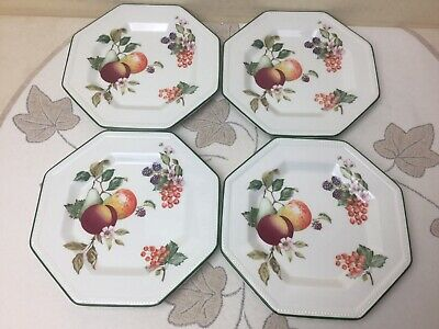 "Johnson Bros Fresh Fruit 4 X Side Plates Mint Unused Condition 6"" • 9.99£"