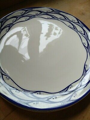 Jersey Pottery Sardine Run Large Dinner Plate. 28cm. New, But Washed. • 14£