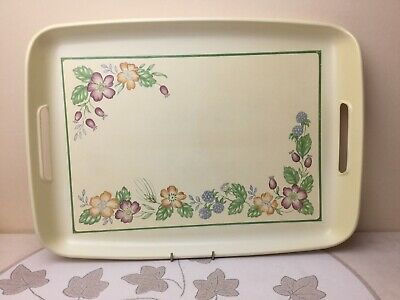 Biltons / Staffordshire Country Lane Large Thermoplastic Serving Tray • 5.99£