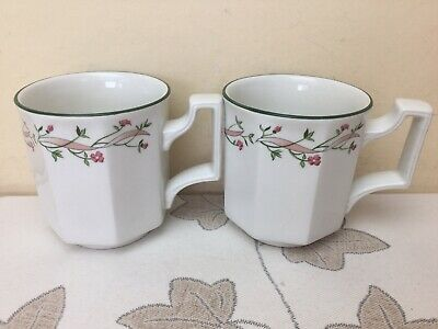 Johnson Brothers Eternal Beau 2 X Large Mugs Superb Condition • 9.99£