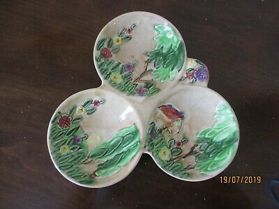 Unusual Vintage Divided Tri Dish By Shorter And Son  • 12.50£