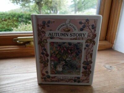 Royal Doulton Brambly Hedge Autumn Story Money Box Unboxed Excellent Condition • 4.50£