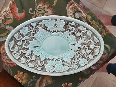 Vintage Indian Tree Dish Hand Painted By H J Wood • 5£