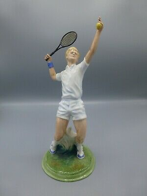 Royal Doulton The Ace HN3398 Tennis Figurine Exc Condition   • 100£