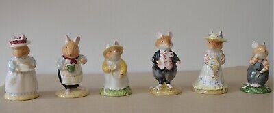 Royal Doulton Brambly Hedge Figurine Collection DBH 1, 2, 3, 6, 7, & 8  • 10£