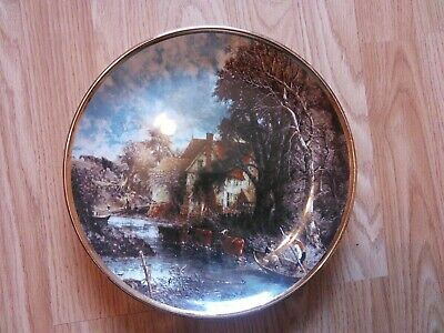 The Valley Farm Plate ( John Constable ) By Lord Nelson Pottery . • 8.50£