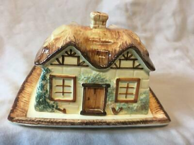Cottage Ware Keele Street Pottery  Butter Dish And Cover • 15.99£