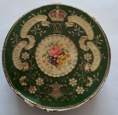 Vintage Royal Crown Derby Butter Dish And Knife, • 4.50£