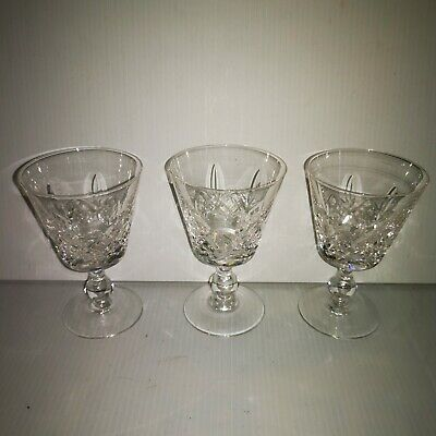 Stuart Crystal Glasses 4.5  Glengarry X 3 • 14.99£