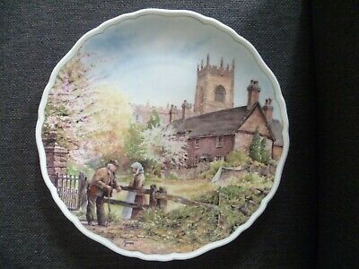 Royal Doulton Plate Village Life By Anthony Forster On Memory Lane 1989 • 15£